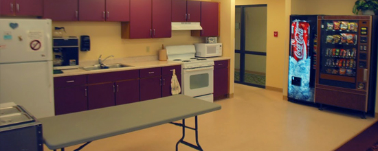 Greenridge Community Room Kitchen